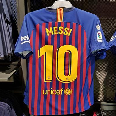 FC바르셀로나 오피셜 매장 가격과 사이즈
