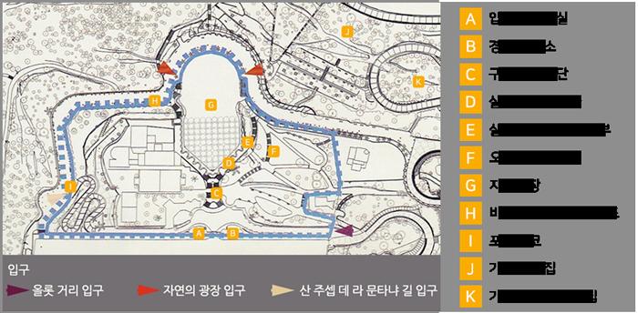구엘공원 지도
