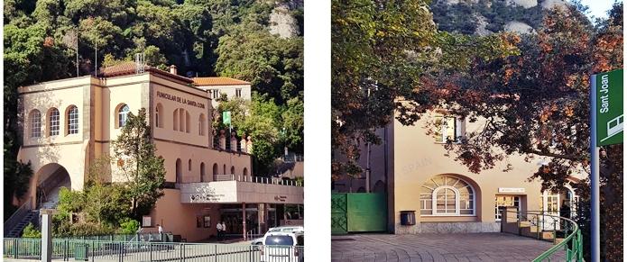 몬세라트 수도원 산타코바와 산 호안
